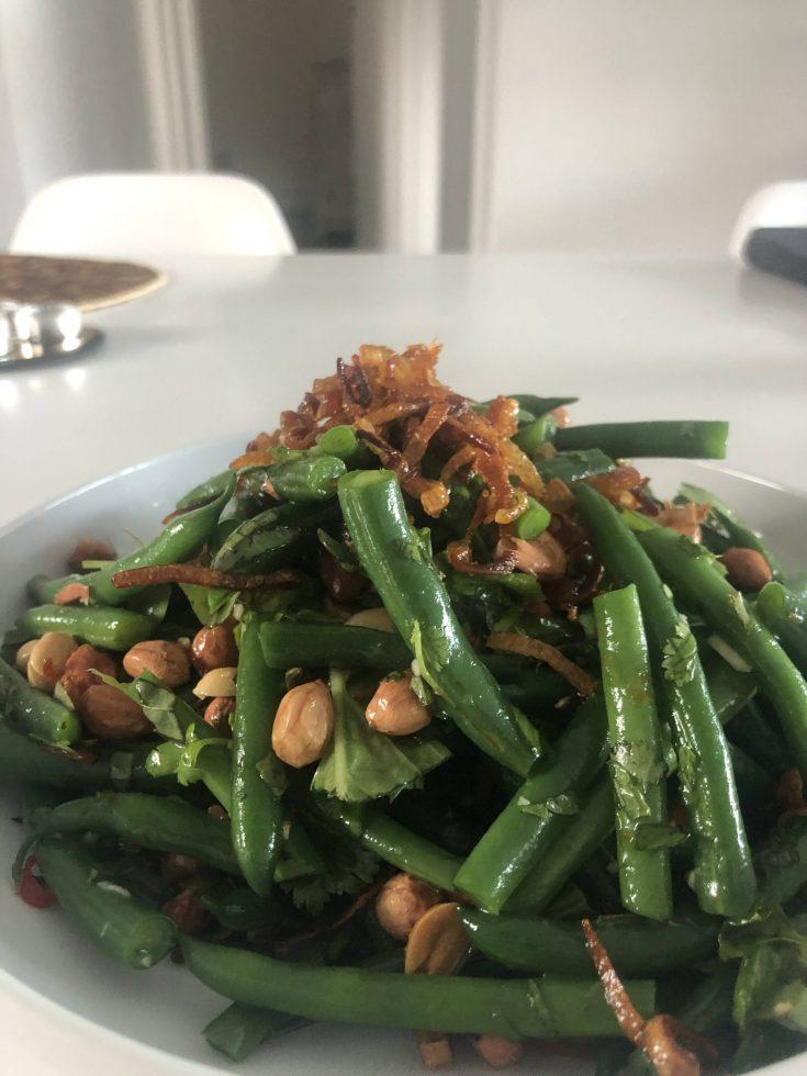 green bean som tam salad