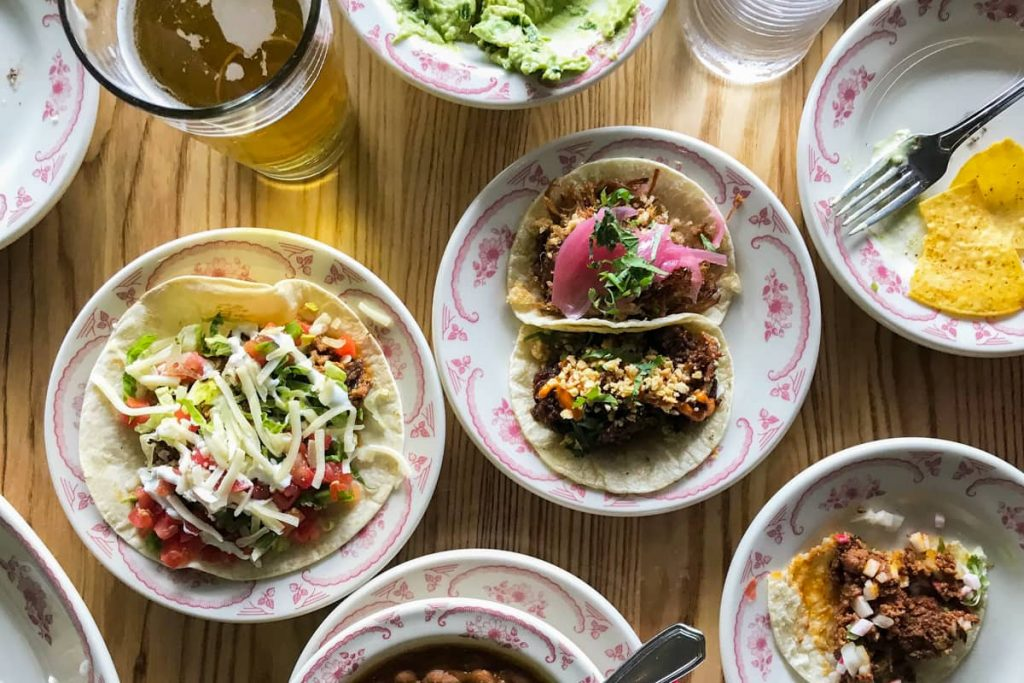 Make it a taco night for a stress-free dinner party