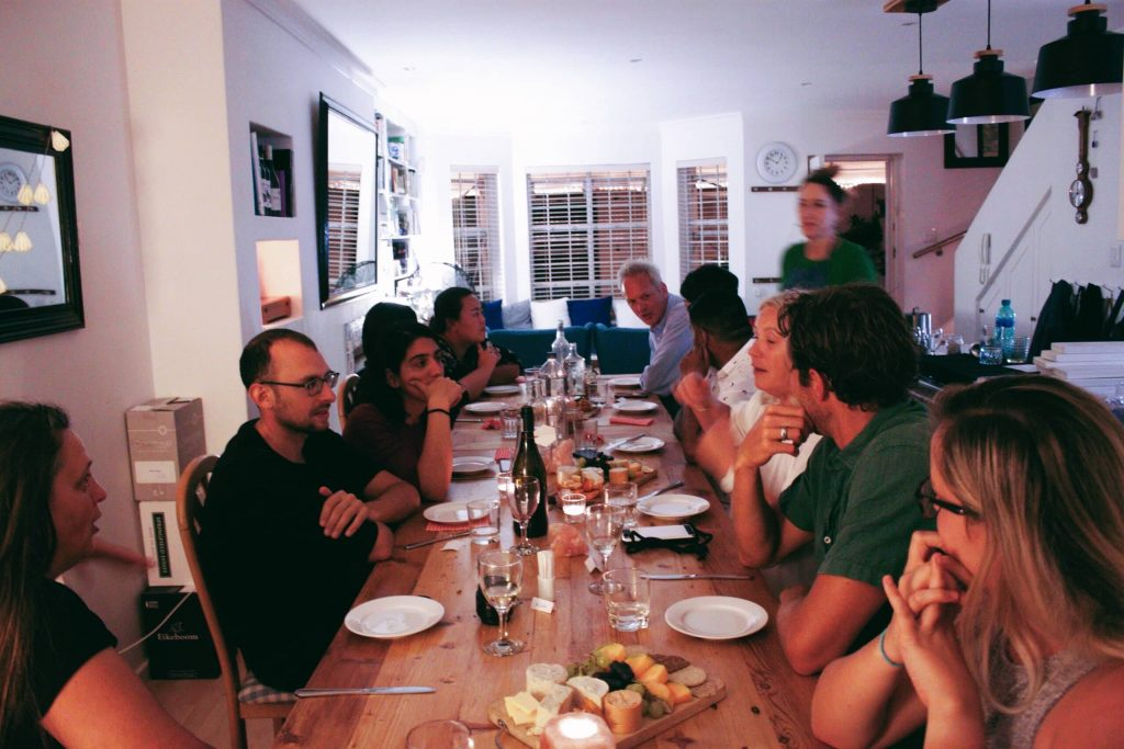dinner party blog cover image
