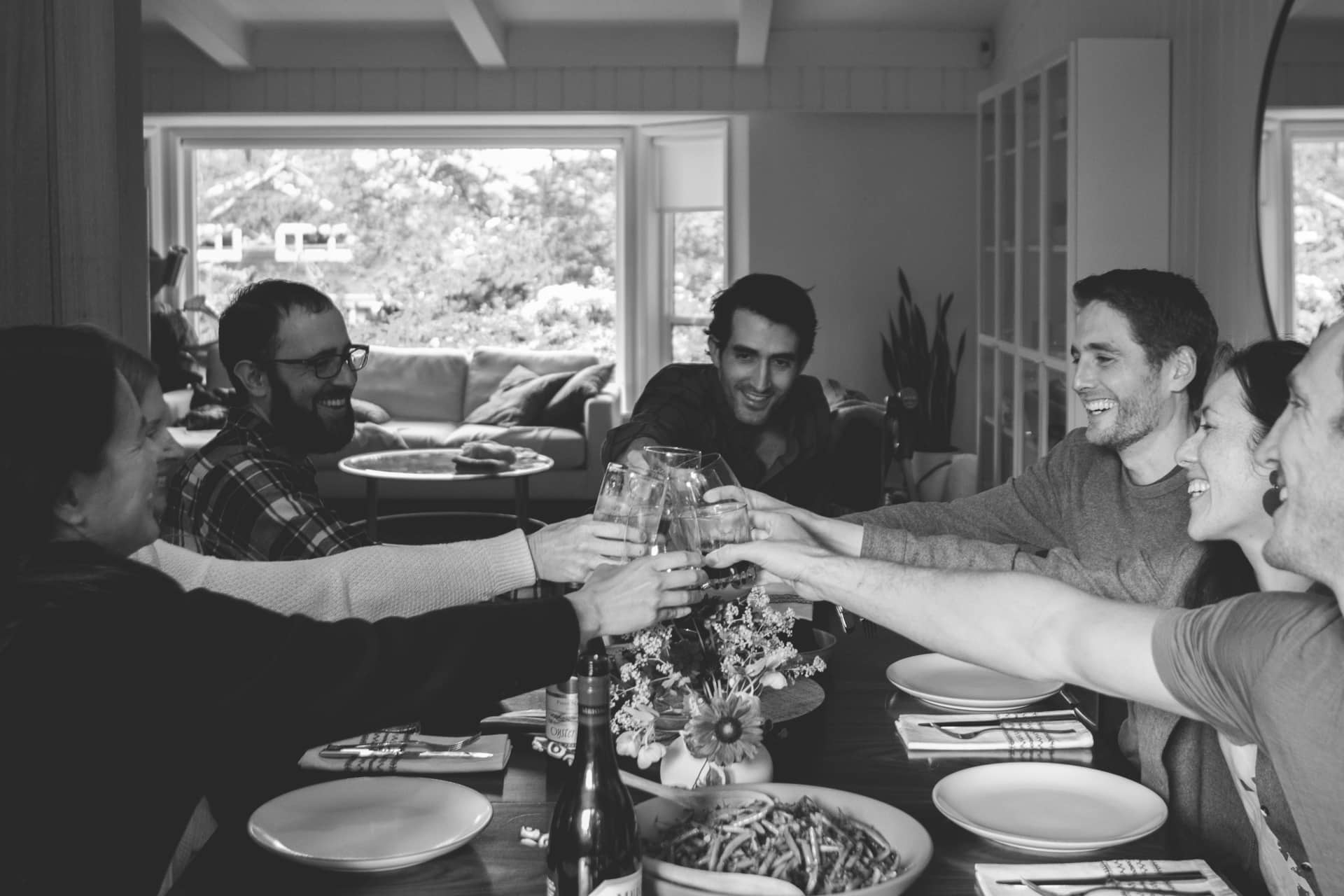 Feed My Friends - A dinner party blog, hero image.