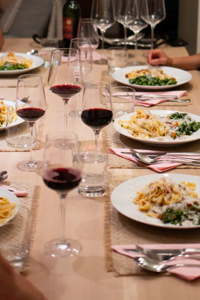 A dinner party hack - pasta making night, not a dinner party.